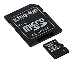 Kingston MicroSD Speicherkarte 8GB