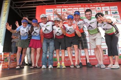VAUDE Trans Schwarzwald 2007: 7. und letzte Etappe Grafenhausen - Murg-Niederhof