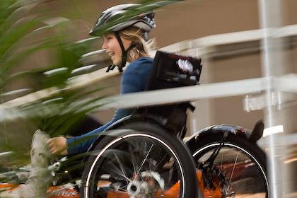 Impressionen der Fahrradmesse