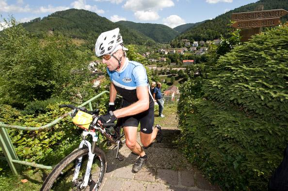 VAUDE Trans Schwarzwald 2008: 4. Etappe, Wolfach - Schonach