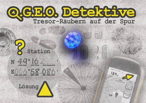 G.E.O. Detektive: Tresor-Räubern auf der Spur