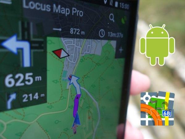 GPS-Navigation mit dem Smartphone