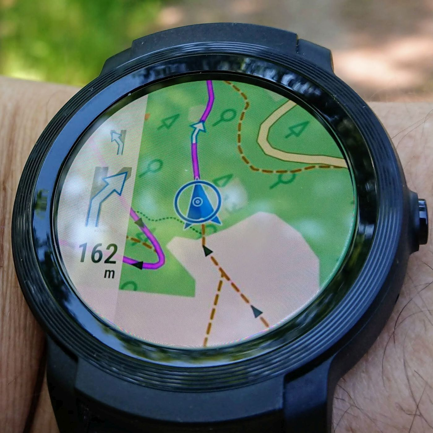 Locus Map Watch auf der TicWatch E2