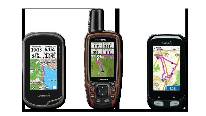 Garmin GPS-Geräte Verleih