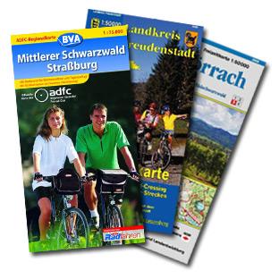 Papierkarten Schwarzwald