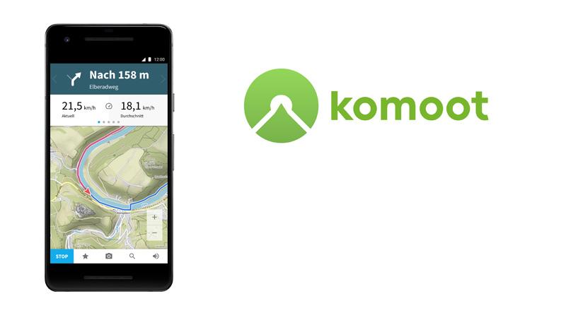 Komoot GPS-Kurs
