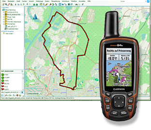 GPS-Software/Karten/Internet