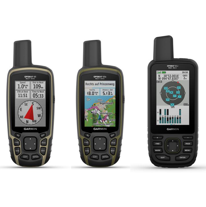GPSMAP 65 + 66sr (Foto Garmin, CC)