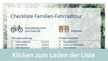 Checkliste Familientour
