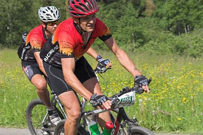 In 2er Teams durch den Schwarzwald