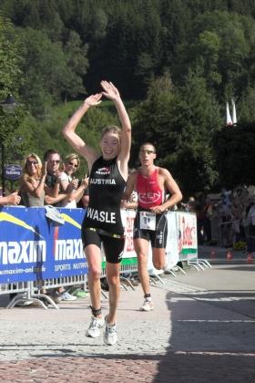 Frauensiegerin Carina Wasle