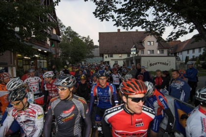 120 km Start im Morgengrauen