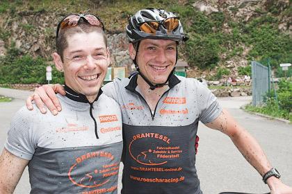 Stefan Röschl und Steffen Schaal vom Team