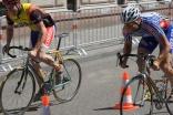 Hart umkämpfte Finalläufe beim Radsprint