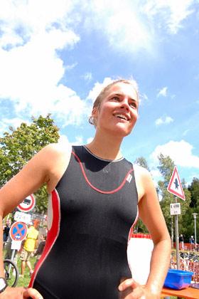 Ludmilla Hertle von den Karlsruher Lemmingen (Foto: Marco Müller)
