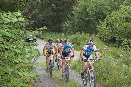 VAUDE Trans Schwarzwald: 1. Etappe Pforzheim - Bad Wildbad