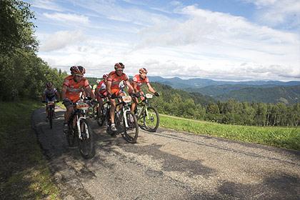 VAUDE Trans Schwarzwald 2007: 4. Etappe Wolfach – Schonach im Ferienland