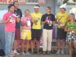 Siegerehrung beim Breisgau Triathlon 2007