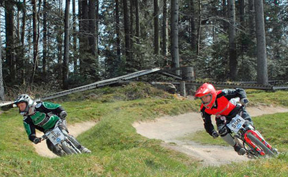 Dual Fun Race im Bikepark Bad Wildbad