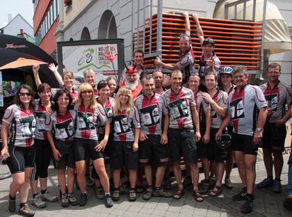 Beim Marathon in Offenburg (Foto: AldeGott-Biker)