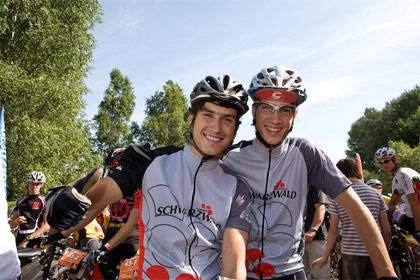 Sebastian und Benedikt Ruf vom Team Ferienland