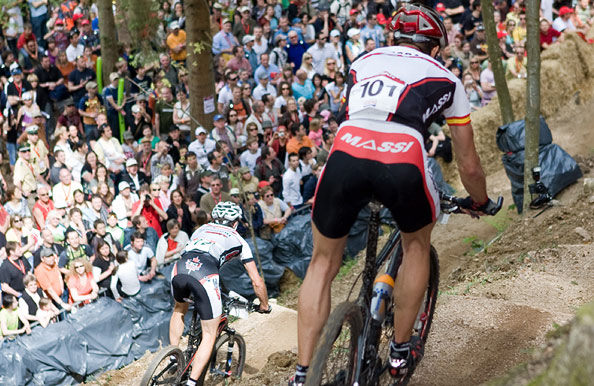 UCI Mountainbike Weltcup in Offenburg/Rammersweier