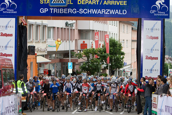 GP Triberg-Schwarzwald: Start Jedermannrennen