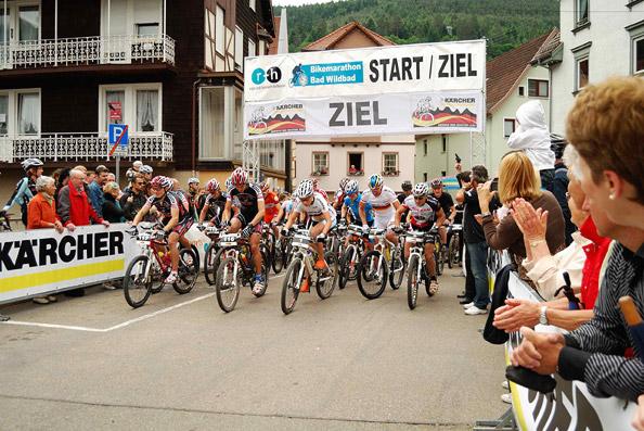 r+h Bike Marathon in Bad Wildbad 2009