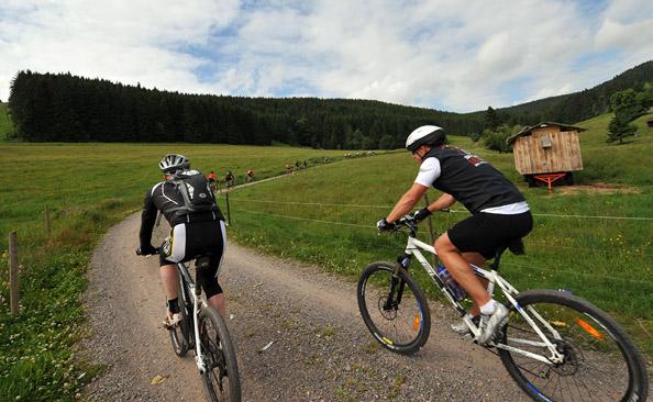 Teilnehmerrekord beim Beim 12. Black Forest Ultra Bike Marathon (Fotograf Patrick Seeger)