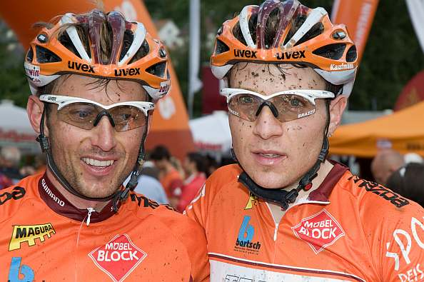 Andi Strobel und Markus Kaufmann vom Team VAUDE Simplon
