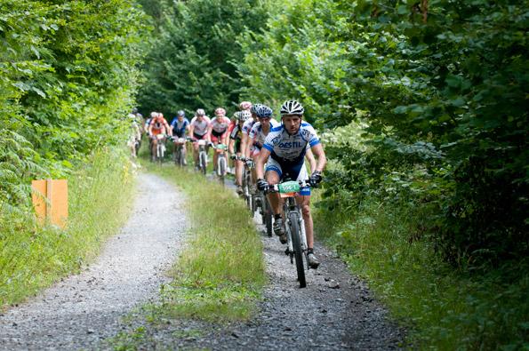 VAUDE Trans Schwarzwald 2009: 1. Etappe von Pforzheim nach Bad Wildbad
