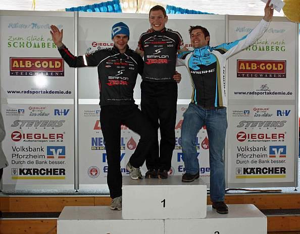 Ziegler CitySign Ice Rider - Siegerehrung