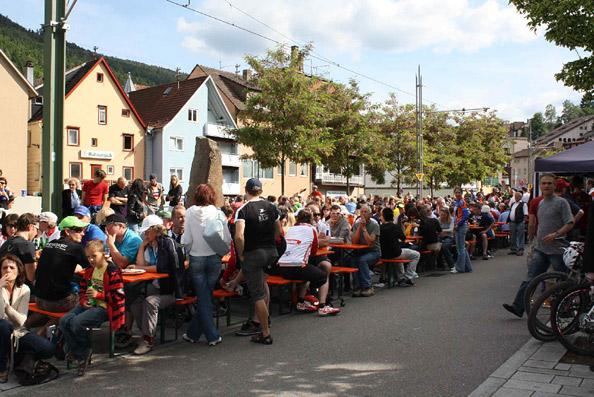 Bike Marathon Bad Wildbad: Fressmeile