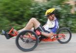 Need for Speed: Der Spezi-Samstag steht im Zeichen der Geschwindigkeit, das traditionelle Trike-Race versetzt Fahrer wie Zuschauer in Hochspannung.