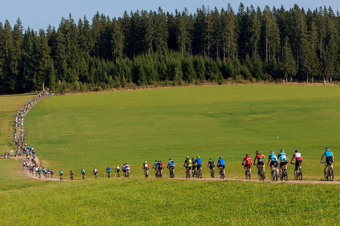 20. Schwarzwald-Bike-Marathon in Furtwangen, Foto: dah[u]u