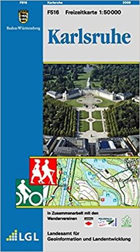 Karlsruhe - Freizeitkarte