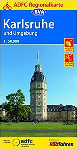ADFC-Regionalkarte Karlsruhe und Umgebung