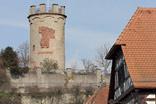 Der Wartturm oberhalb von Weingarten