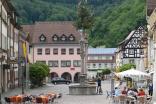 Waldkirch - Pause vor dem Anstieg