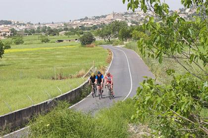Kleine Straße bei Sant Joan