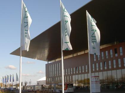 Neue Messe Karlsruhe / dm-Arena