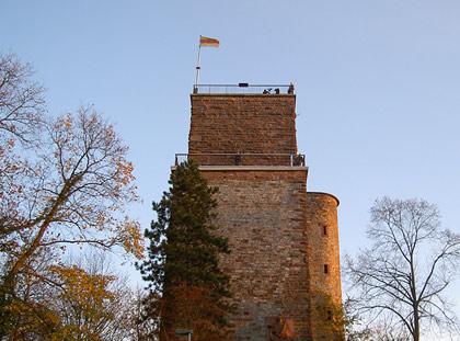 Turm auf dem Durlacher Turmberg