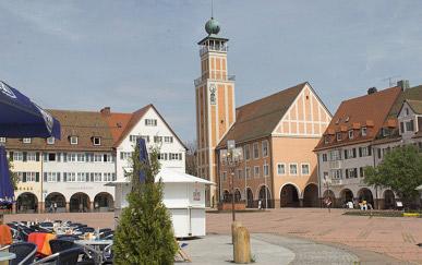 Oberer Marktplatz in Freudenstadt