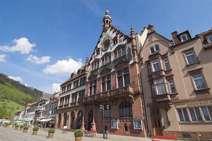 Marktplatz/Rathaus Wolfach