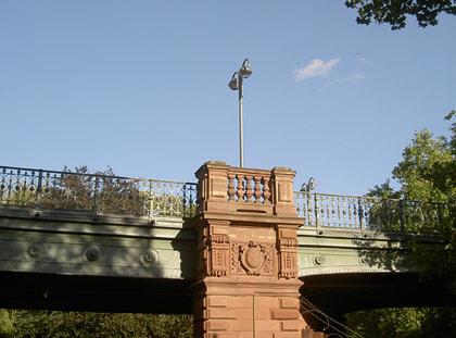 Hirschbrücke in Karlsruhe