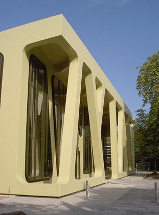 Neubau der Mensa Karlsruhe