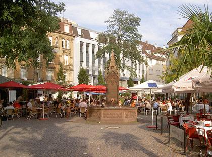 Ludwigsplatz Karlsruhe