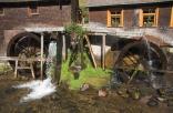 Wasserräder der Hexenlochmühle