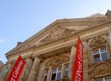 Im Karlsruher Hauptpostgebäude befindet sich heute die Post Galerie.