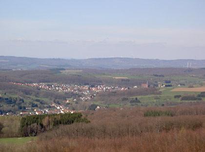 Aussicht vom Höcherbergturm